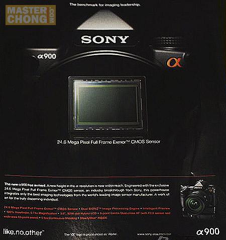 Sony Alpha DSLR Ads