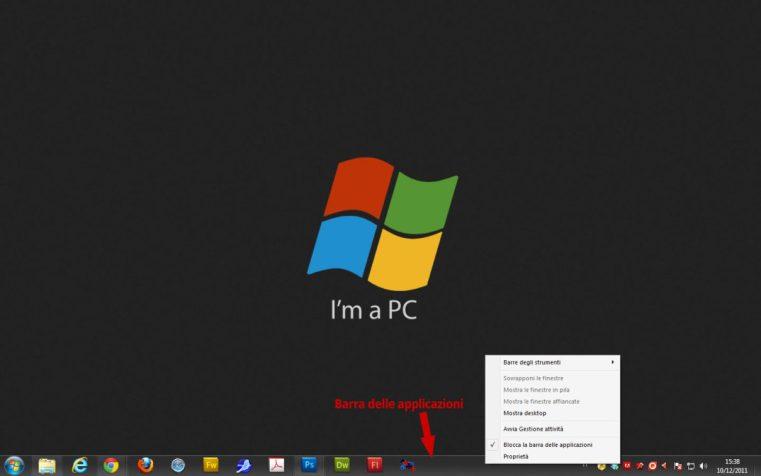Barra Delle Applicazioni Windows