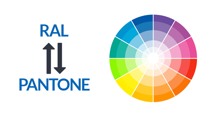 Ral Pantone conversione dei colori ral a pantone