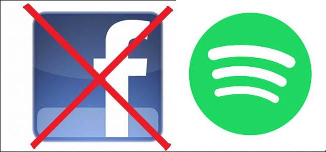 Come Usare Spotify senza Facebook