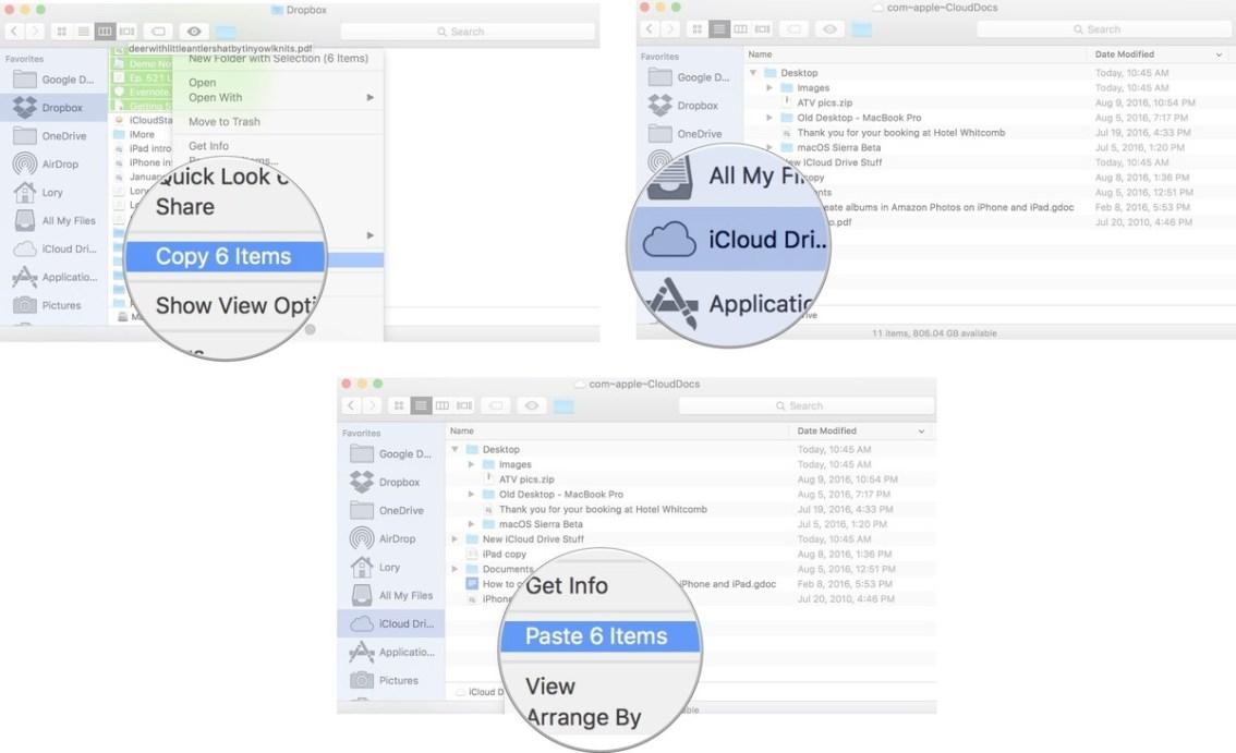 Come Trasferire File Da Dropbox Google Drive Onedrive A