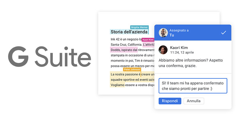 CLOUD ILLIMITATO GOOGLE G SUITE