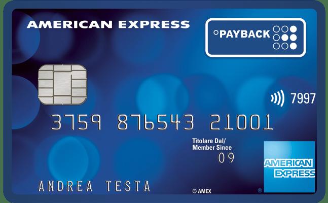 Carta PAYBACK American Express Richiedi