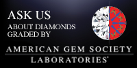 We off diamonds graded by AGS Laboratories