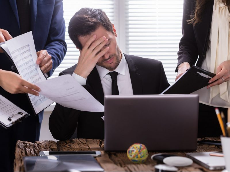 How to Deal with Pressure: 5 Strategies CEOs and Business Leaders Use to Relieve Stress