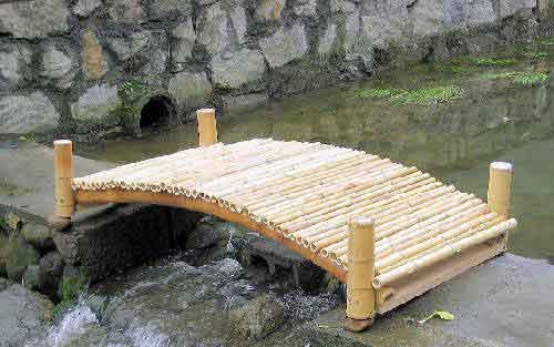 bamboo garden bridge Garden Bridge