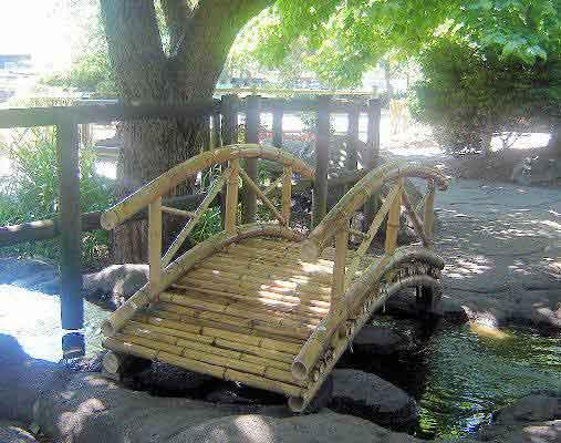 bamboo garden bridge Bamboo Bridge