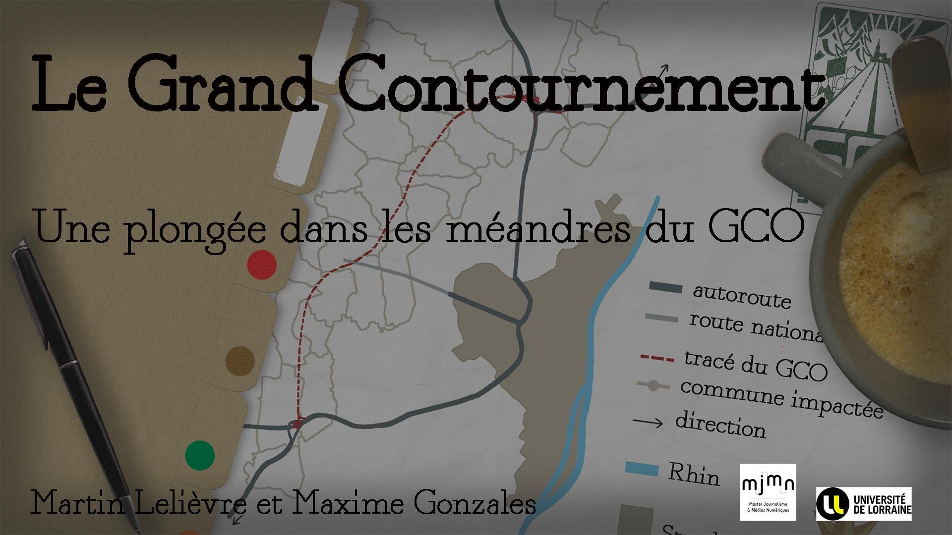Plus de voitures, plus de routes? Martin Lelièvre et Maxime Gonzales racontent par le menu les débats et enjeux du Grand contournement ouest de Strasbourg