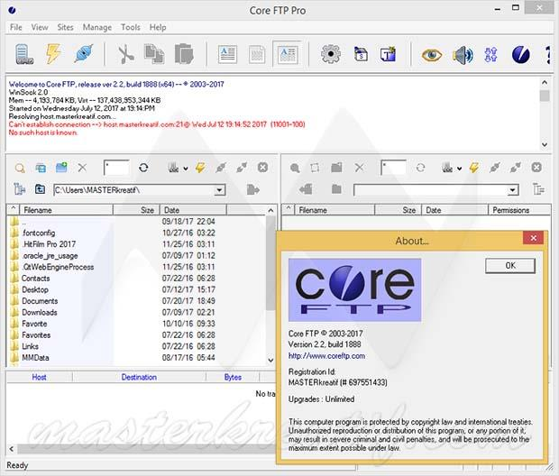 Core FTP Pro 2.2 Full Unlimited