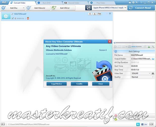 Any Video Converter Ultimate Full Version