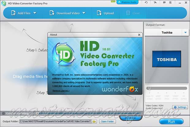 HD Video Converter Factory Pro 10