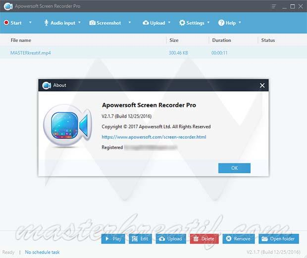 Apowersoft Screen Recorder Pro 2.1.7