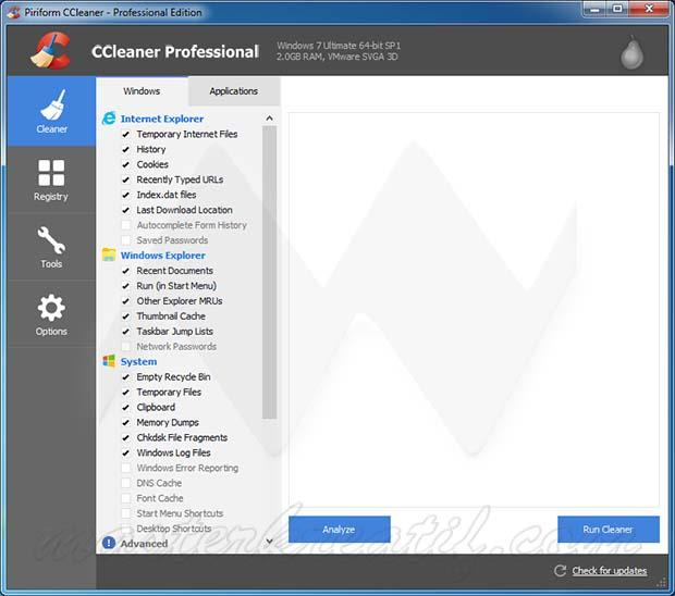 CCleaner Professional Edition