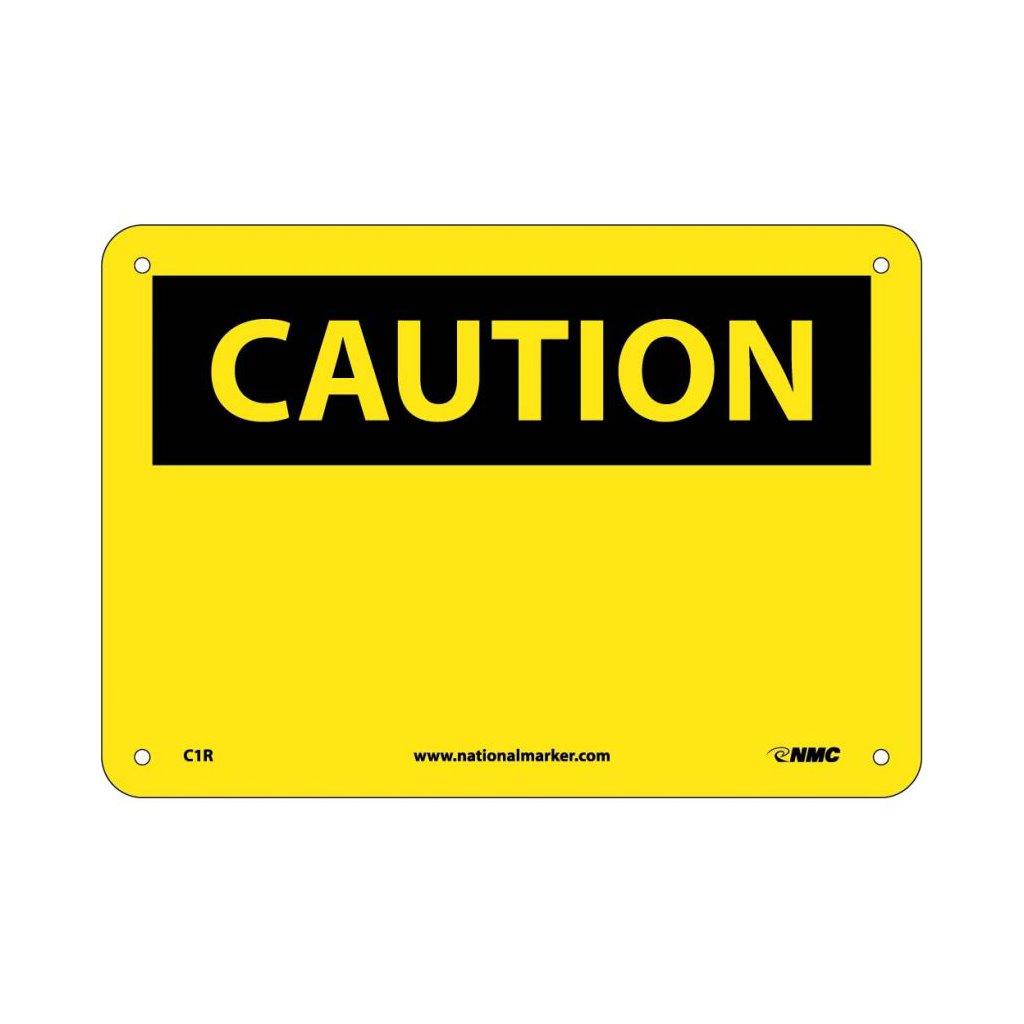 Sig C1r Sigc1r Sign 7x10 Rp Blank Caution Header Masterman S