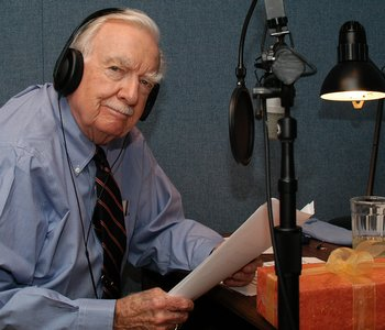 Walter Cronkite in the last decade - Texas Parks and Wildlife photo by Richard Roberts