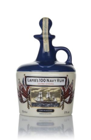 Lambs 100 Extra Strong Navy Rum HMS Victory Ceramic