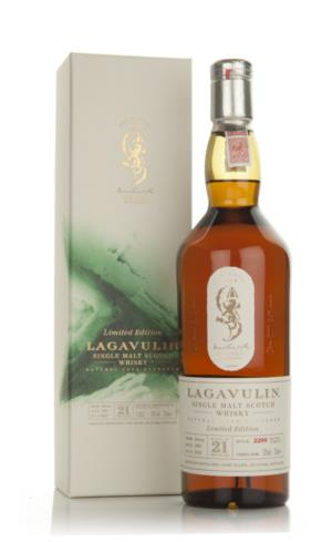 Lagavulin 21 (sold out at Master of Malt)