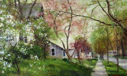 A Walk Through My Painted Garden