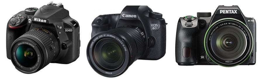 Digital Camera Comparison for Artists