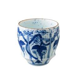 Japanese ceramic sake cups and sets of Imari ware pottery