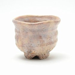 Hagi ware pottery sake cups you can buy at Amazon