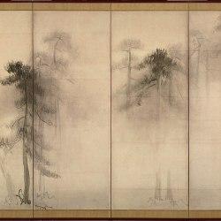 Hasegawa Tohaku pine tree