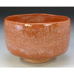 Raku ware tea bowls of Kyo-Kiyomizu ware for sale