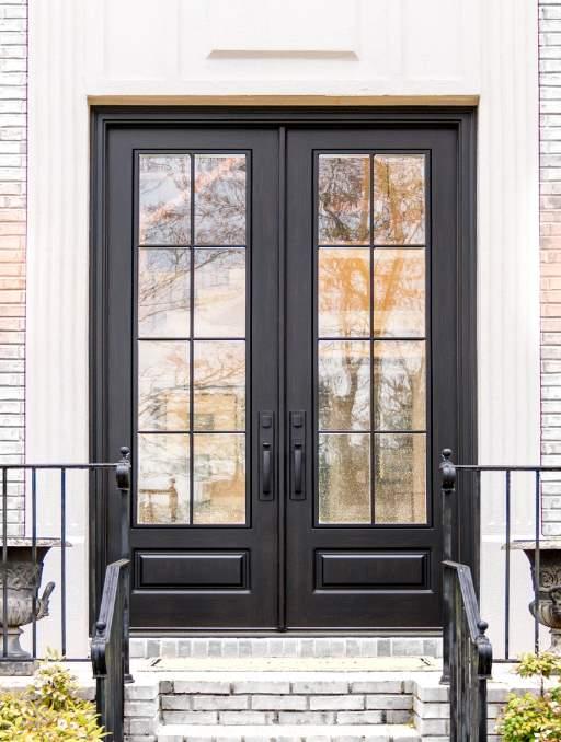 Modern French Door Collection Masterpiece Doors