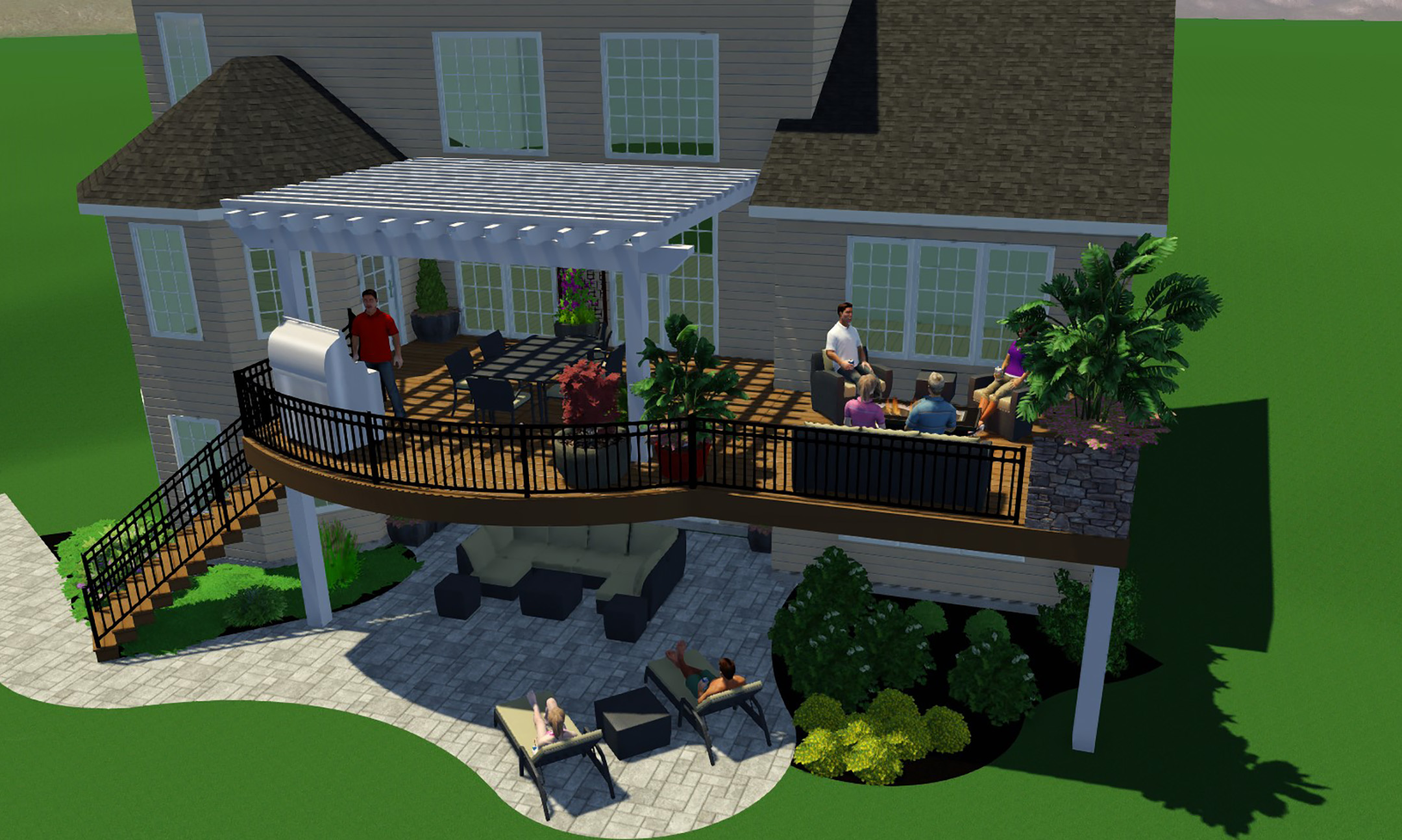 Why your outdoor living space should start with a 3D ... on Masterplan Outdoor Living id=87792