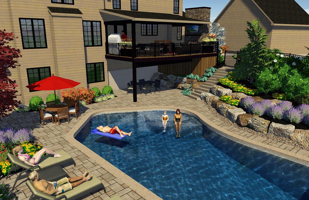 Landscape Design Services | MasterPLAN Outdoor Living ... on Masterplan Outdoor Living id=12792