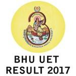 BHU UET Result 2017