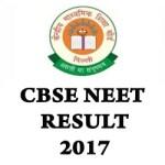 CBSE NEET Result 2017