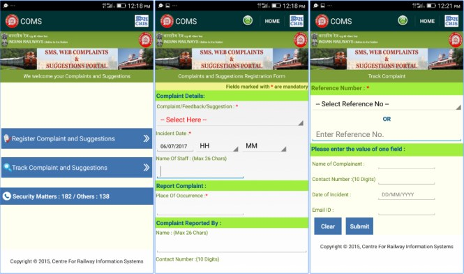 Indian Rail Saarthi APP Download 2017