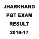 Jharkhand PGT Exam Result 2016-17
