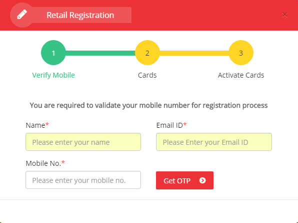 IGL Smart Card Retail Registration