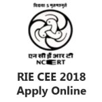 RIE CEE 2018 Apply Online