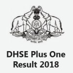 DHSE Plus One Result 2018