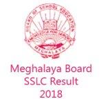 Meghalaya SSLC Result 2018