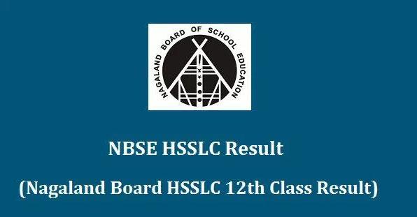 NBSE HSSLC Result 2018