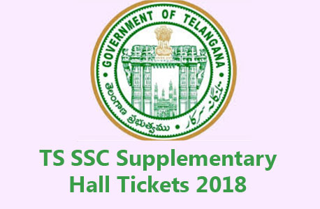Telangana TS SSC Supplementary Hall Ticket 2018