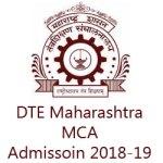 DTE Maharashtra MCA Admission 2018