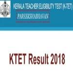 Kerala TET Result 2018