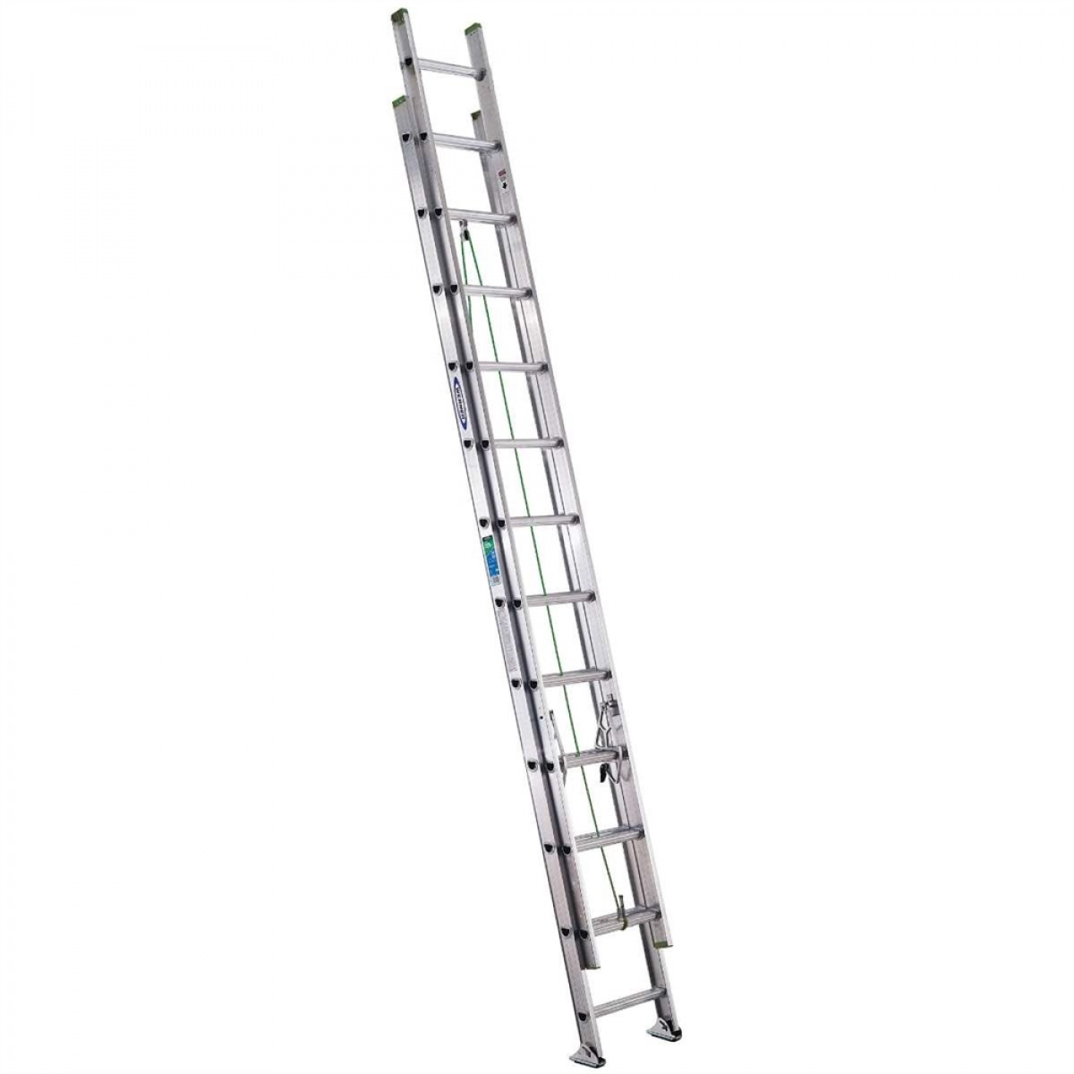 Werner D Rung Aluminum Extension Ladder D 2 16 40