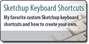 Sketchup keyboard Shortcuts