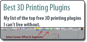 Best 3D Printing Plugins for SketchUp