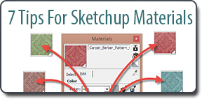 7 Tips for SketchUp Materials