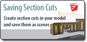 Saving Section Cuts to Scenes in SketchUp