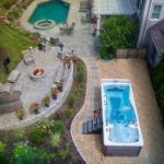 Fire And Water Fire Pit And Hot Tub Backyard Inspiration Master Spas Blog