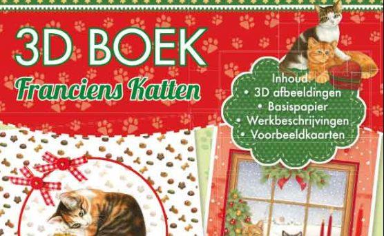 Kerst kaarten gemaakt met franciens katten 3d boek – 2016 – Review