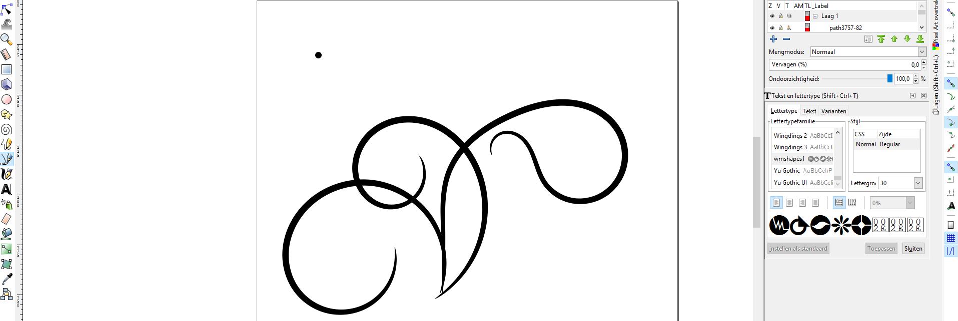 Swirls tekenen in 10 minuten in Inkscape en gebruiken in jouw snij machine – Handleiding
